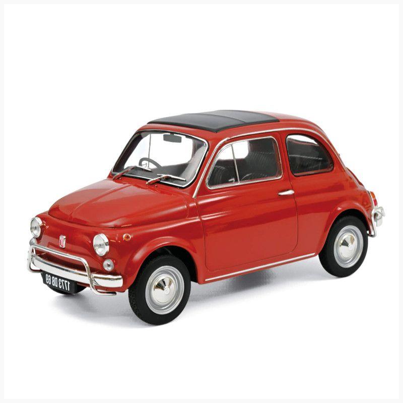 Simoncini Giocattoli e Modellismo Roma - Norev - FIAT 500L 1968 - rosso corallo fronte