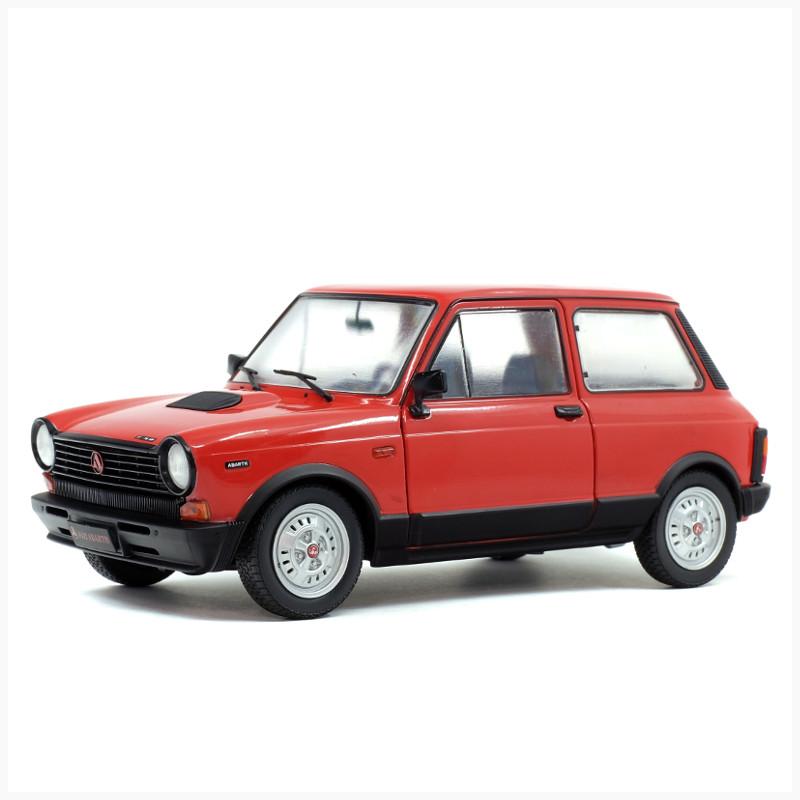 Simoncini Giocattoli e Modellismo Roma - Solido - Autobianch A112 Abarth 1980 rossa
