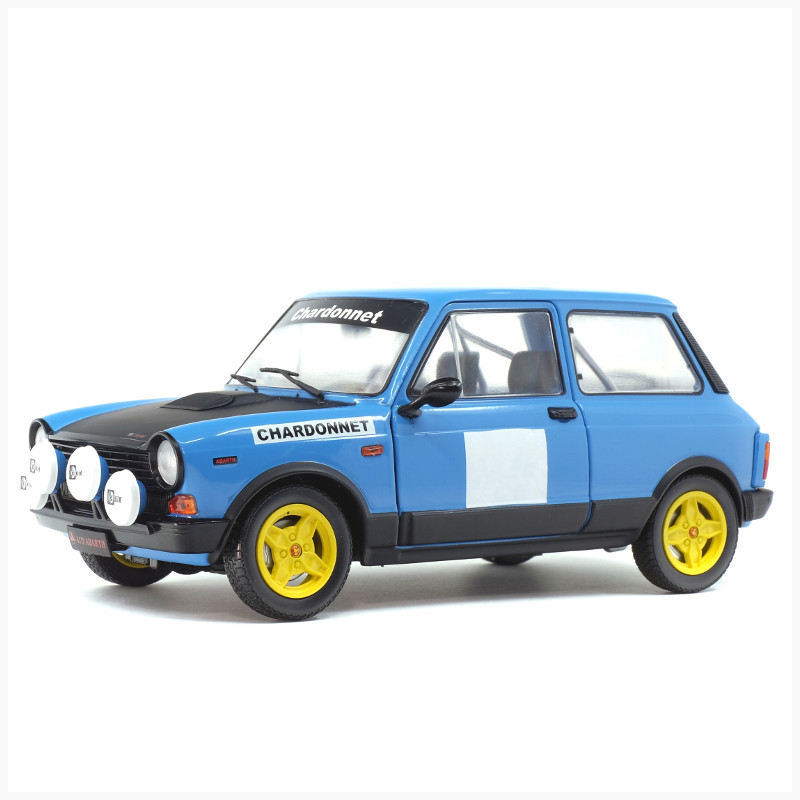 Simoncini Giocattoli e Modellismo Roma - Solido - Autobianch A112 Chardonnet Rally set 1980